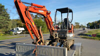 Excavator for Hire Medium sized unit 3.5 ton