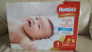 **Huggies Brand New Size 1, 198 count