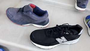 2 pairs of new balance shoes size 13