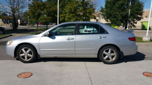 2005 Honda Accord EXL 4 Cylinder - As is