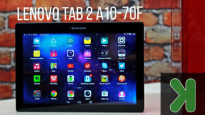 Lenovo Tab 2 A10-70  10 inch KEYBOARD Case Charger, NEW CAR DVR
