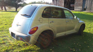 2001 (x2)  Chrysler PT Cruisers for parts