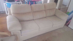 Beige Coloured Couch in a Perfect Condition