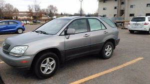2002 Lexus RX 300 SUV, luxury edition