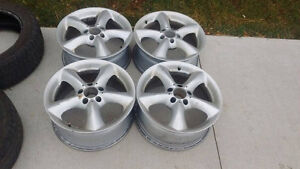 """17"""" Benz Rims and Tires"""