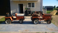 Two - New Idea Electric Lawn  Mower Tractors - BEST OFFER!