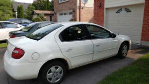 2005 Dodge Neon 148,000 klm. $2800