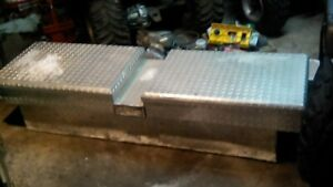 CHECKERED TOOLBOX FOR TRUCK FORSALE/TRADE FOR QUAD BUDDY SEAT