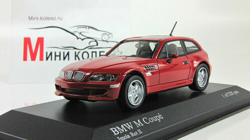 Scale car 1:43, BMW Z-Series M Coupe 1999 Red