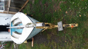 14 FOOT SAIL BOAT WITH TRAILER AND ALL ACCESSORIES