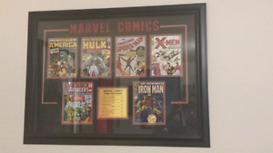 Marvel first print edition & movie posters