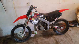 Selling my 97 honda cr250 for $2000 firm.
