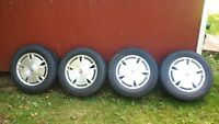 Honda Civic Winter Package Tires and Rims 195/65/15