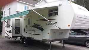 Roulotte fifth wheel flagstaff