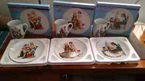 Norman Rockwell Collection Set