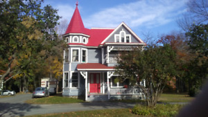Beautiful two-bedroom in Victorian home, close to UNB