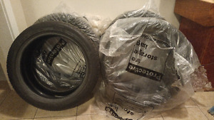 6 lightly used Michelin 225/45 R17 M+S