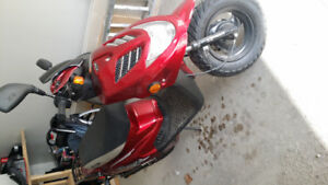 Scooter  Beamer E-Ton matrix