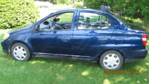 2001 Toyota Echo 4dr Sedan 5 spd Undercoated Since New.