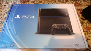 PS4 with a controller to sell