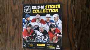 Panini Hockey Stickers....2015-2016 collection....