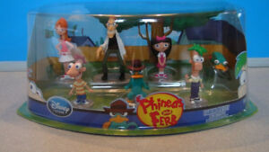 Phineas and Ferb toys. Brand new