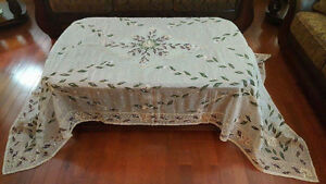 Beaded covers for dining tables , coffee table and others London Ontario image 1