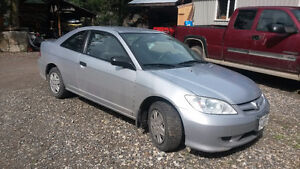 2005 Honda Civic Coupe (2 door) Very good condition