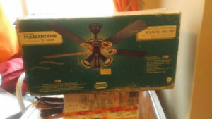 Brand new in box Pleasantaire Ceiling Fan