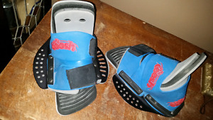 ADJ COOSH WAKE BOARD BINDINGS