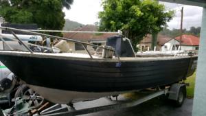 Fishing Boat 70hp Johnson