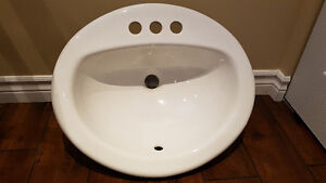 American Standard Bathroom Sink White