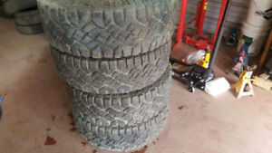 4 Tires 31/10.50/15 $450 price is negotiable