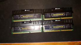 Corsair vengeance DDR3 4GB x4
