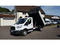 Ford Transit 350 Cc Drw Tipper DIESEL MANUAL 2015/65