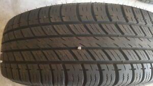 Tires with alloy/aluminium  rims  (205/65R16)