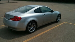 2003 Infiniti G35 Coupe(2 door) Summer and Winter Tires Included