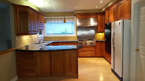**** A COMPLETE KITCHEN CABINETS WITH GRANITE COUNTERTOP***