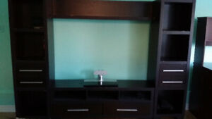 TV stand + Showcase got this from BRICK