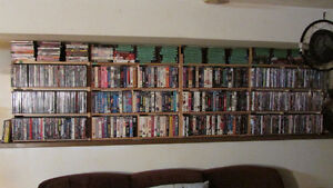 HUGE video collection for sale!