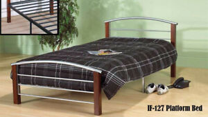 Platform Bed Sale Single Bed $129,Double bed $149,Queen bed $199