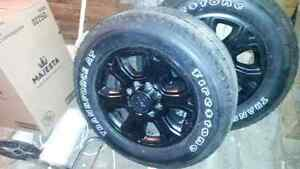 "Dodge Ram 2500/3500 20"" tires and rims"