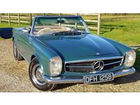 0 MERCEDES 230 230 SL GENUINE RIGHT HAND DRIVE CURRENTLY HAVING BARE METAL RE