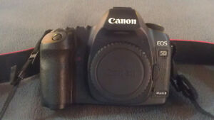 Canon 5D Body With Batteries/Charger - $850