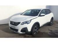2017 Peugeot 3008 1.2 PureTech Allure 5dr Estate petrol Manual