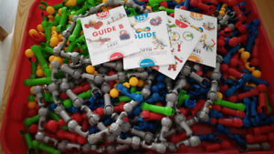 500 piece educational Zoob Construction Set