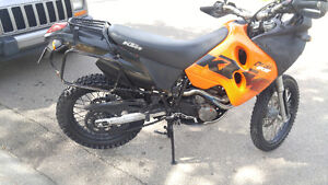 KTM 640 LC4 Adventure dual sport motorcycle