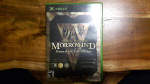 The Elder Scrolls III: Marrowind Game of the Year Edition XBOX