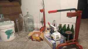 Wine making kit. Brand New! With wine filter.  London Ontario image 2