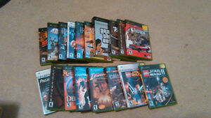 Original xbox games and a controller